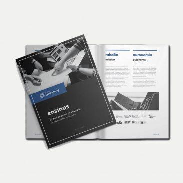 Grupo Ensinus, Educação, Projetos, Logotipo, Apresentação institucional, Content Marketing
